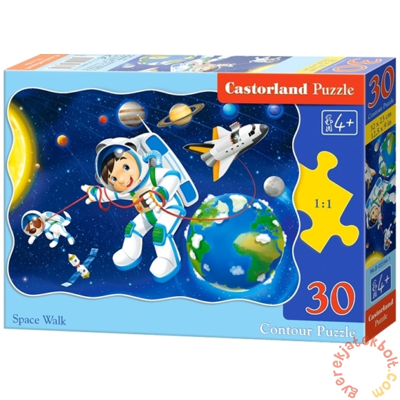 Castorland 30 db-os puzzle - Űrséta (B-03594)