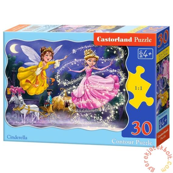 Castorland 30 db-os puzzle - Hamupipőke (B-03747)