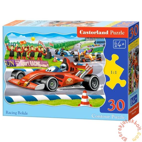 Castorland 30 db-os puzzle - Versenyautók (B-03761)
