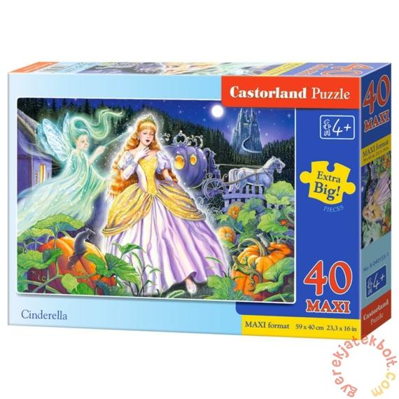 Castorland 40 db-os MAXI puzzle - Hamupipőke (B-040155)