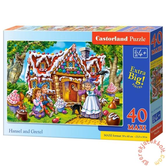Castorland 40 db-os MAXI puzzle - Jancsi és Juliska (B-040285)