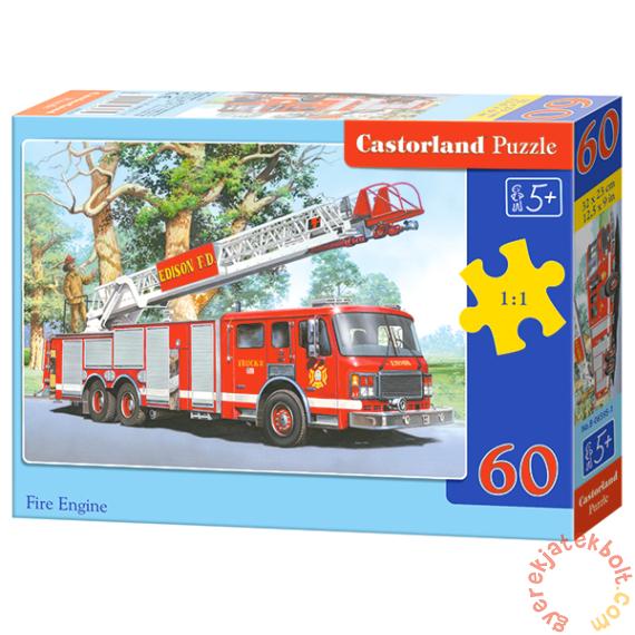 Castorland 60 db-os puzzle - Tűzoltóautó (B-06595)