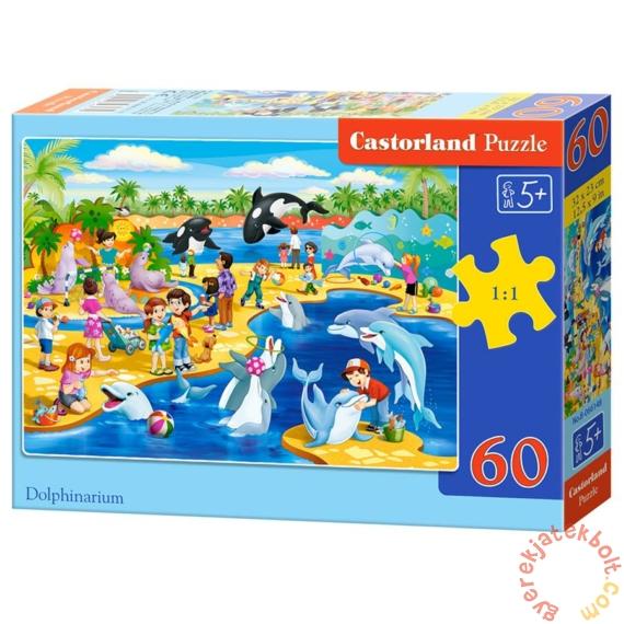 Castorland 60 db-os puzzle - Delfinárium (B-066148)