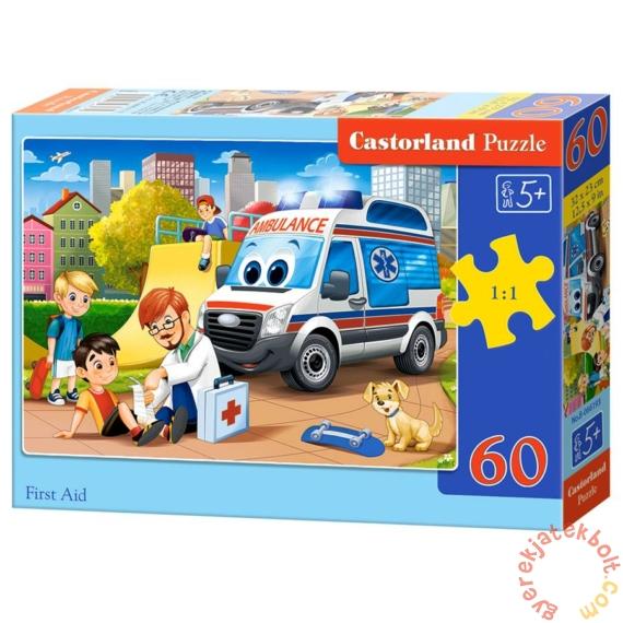 Castorland 60 db-os puzzle - Elsősegély (B-066193)