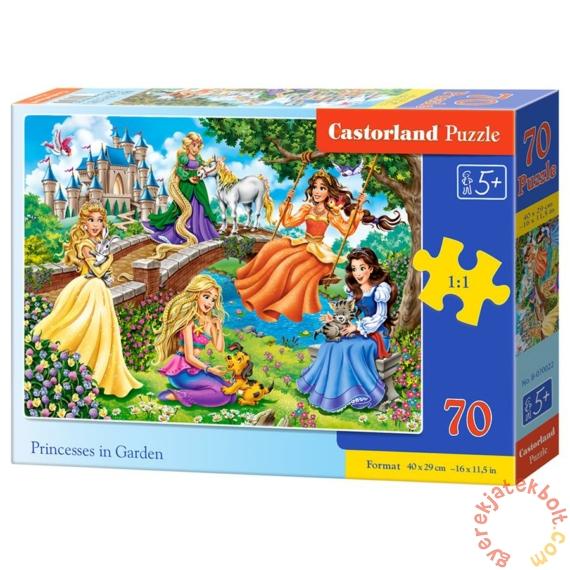 Castorland 70 db-os puzzle - Hercegnők a kertben (B-070022)