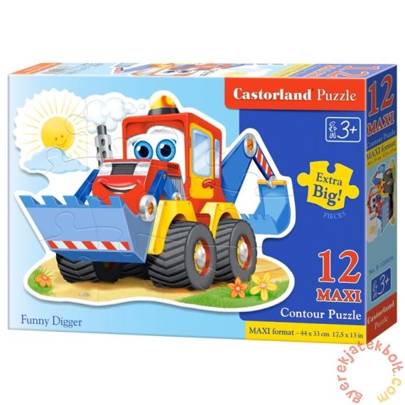 Castorland 12 db-os MAXI puzzle - Mókás markoló (B-120024)