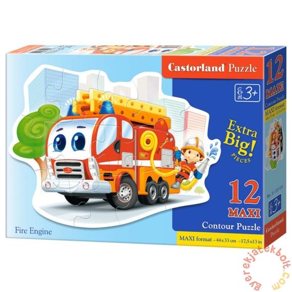 Castorland 12 db-os MAXI puzzle - Tűzoltó (B-120109)