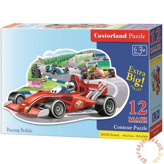 Castorland 12 db-os MAXI puzzle - Autóverseny (B-120208)