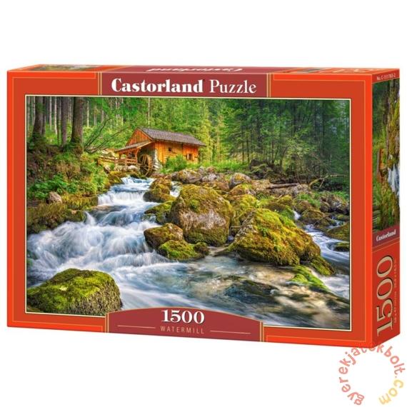 Castorland 1500 db-os puzzle - Vizimalom az erdőben (C-151783)