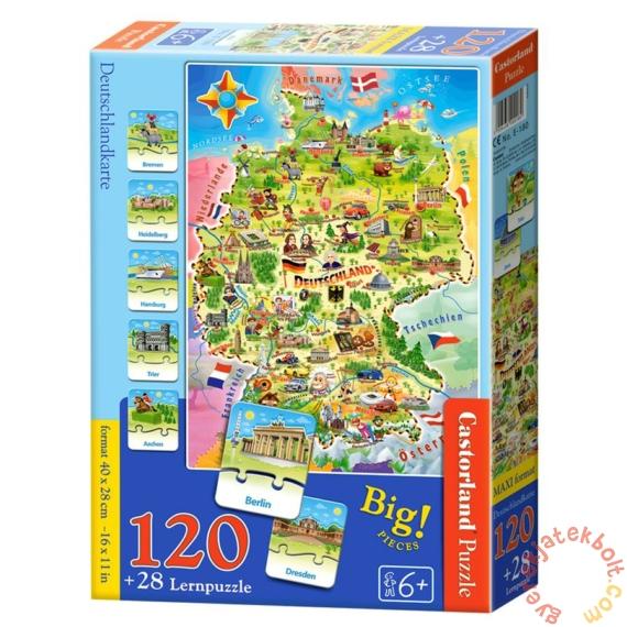 Castorland Oktató puzzle - Németország (E-180)