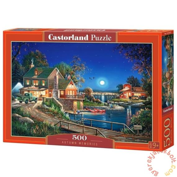 Castorland 500 db-os puzzle - Őszi emlékek (B-53421)