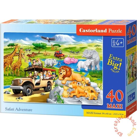 Castorland 40 db-os MAXI puzzle - Szafari kaland (B-040322)