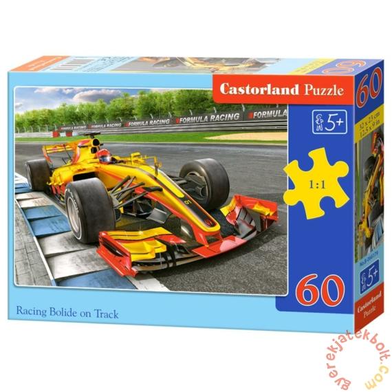 Castorland 60 db-os puzzle - Versenyautó a pályán (B-066179)