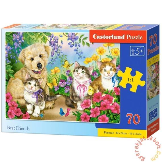 Castorland 70 db-os puzzle - Legjobb barátok (B-070114)