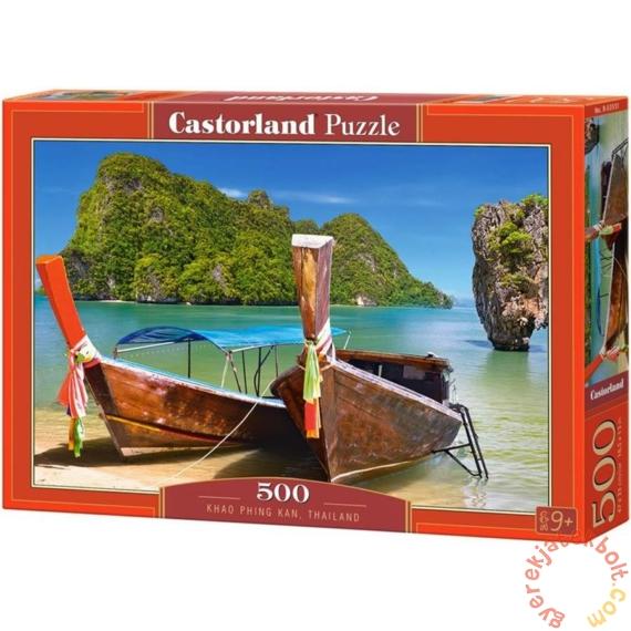 Castorland 500 db-os puzzle - Khao Phing Kan, Thaiföld (B-53551)