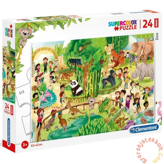 Clementoni 24 db-os Maxi puzzle - Állatkert (28505)