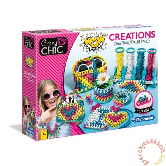 Clementoni - Crazy Chic - WOW Creation szövőszék játékszett (50642)