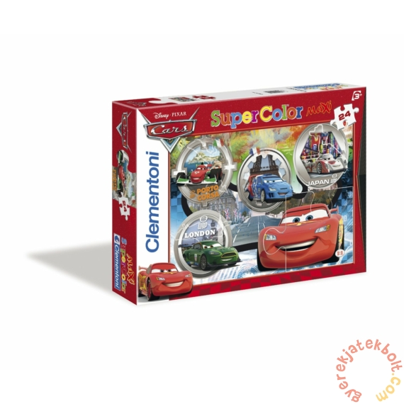 Clementoni Szuper Színes 24 db-os Maxi puzzle - Verdák 2. (24432)