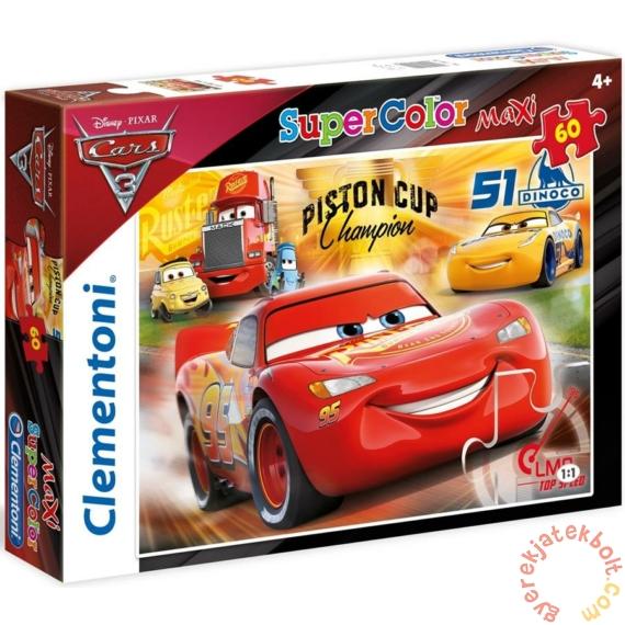 Clementoni 60 db-os Szuper Színes Maxi puzzle - Verdák 3 (26424)