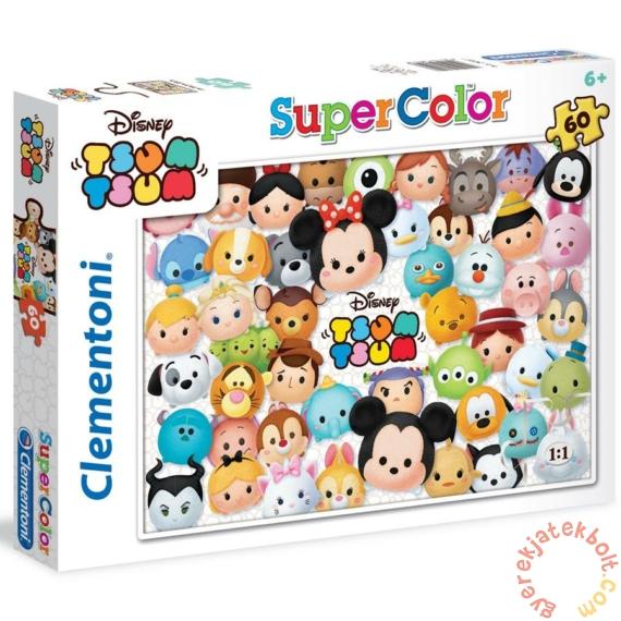 Clementoni 60 db-os Szuper Színes puzzle -  Disney - Tsum Tsum (26951)