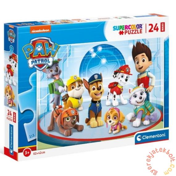 Clementoni 24 db-os Szuper Színes Maxi puzzle - Mancs őrjárat - Mentőcsapat (24211)