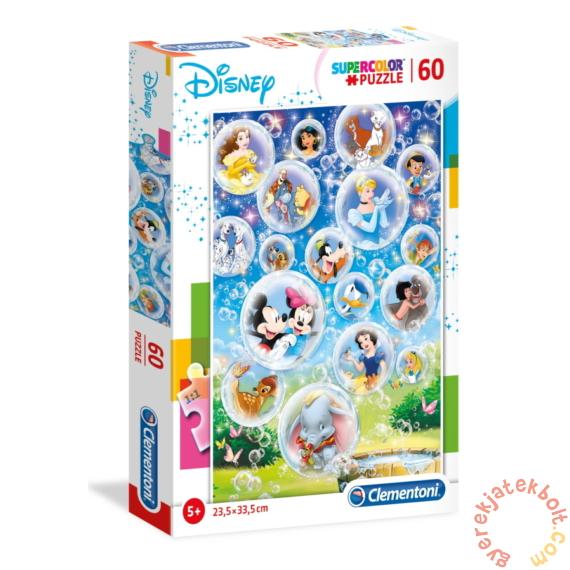 Clementoni 60 db-os Szuper Színes puzzle -  Disney karakterek (26049)