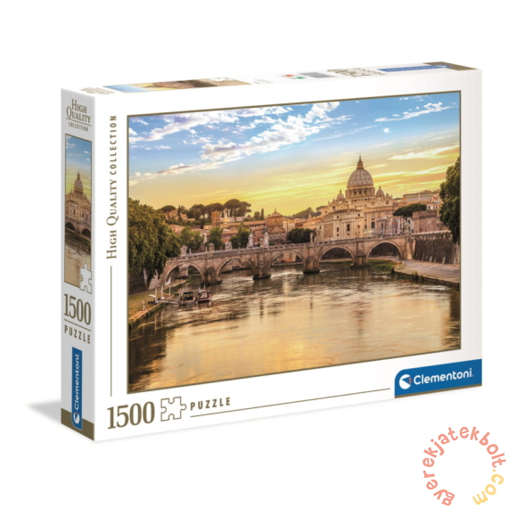 Clementoni 1500 db-os puzzle - Róma - Sant'Angelo híd (31819)