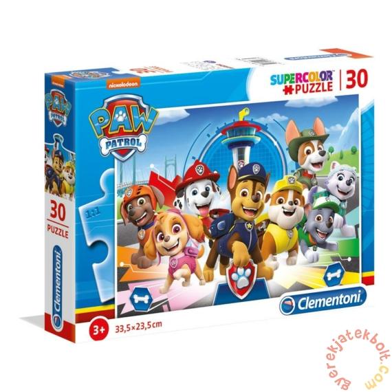 Clementoni 30 db-os Szuper színes puzzle - Mancs őrjárat (20263)