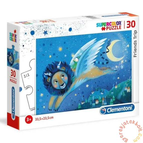 Clementoni 30 db-os Szuper színes puzzle - Utazó barátok (20254)