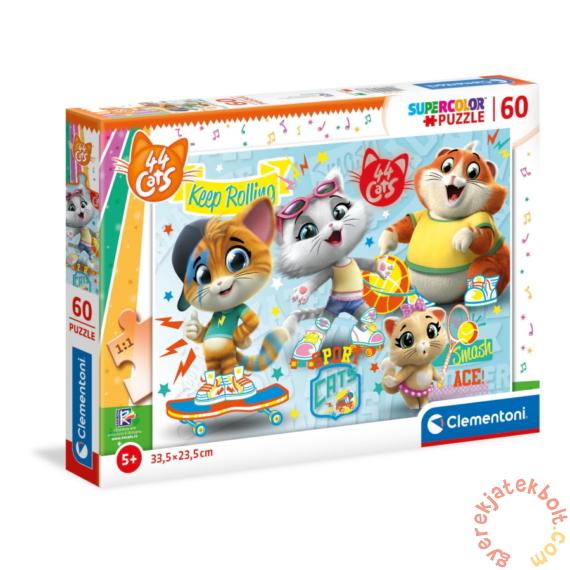 Clementoni 60 db-os puzzle - 44 csacska macska (26063)
