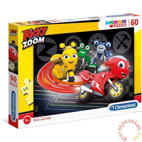 Clementoni 60 db-os Szuper Színes puzzle - Ricky Zoom (27006)