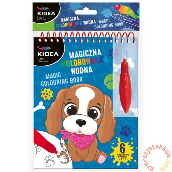 Mágikus vizes kifestőkönyv - kutyus