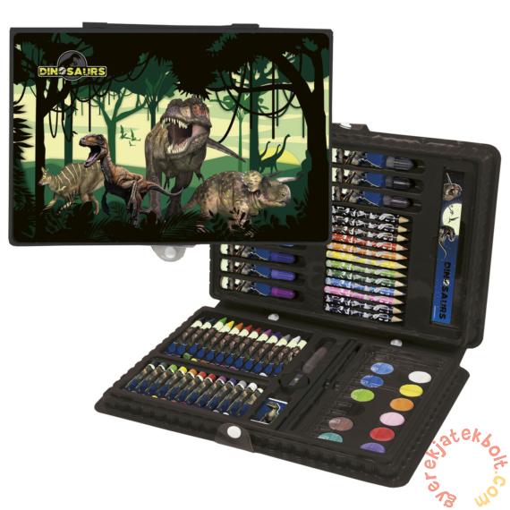 Dinoszauruszok 71 részes rajzkészlet - A dzsungelben
