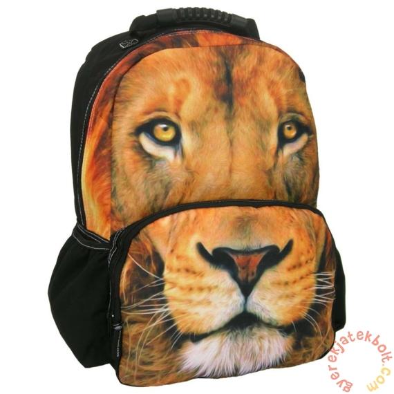Oroszlános iskolatáska, hátizsák - Foto Animal