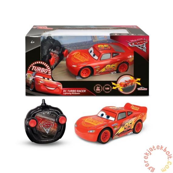 Dickie RC Verdák 3 Turbo Racer - Villám McQueen távirányítós autó (3084003)