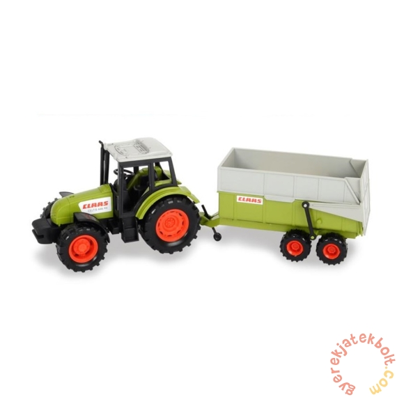 Dickie Claas traktor utánfutóval (3736004)