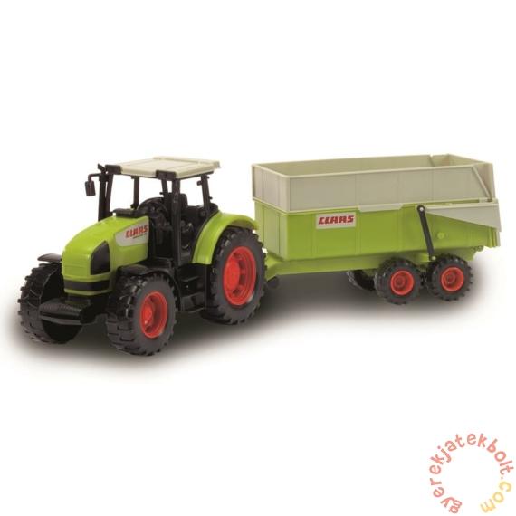 Dickie Claas traktor utánfutóval - 57 cm (3739000)