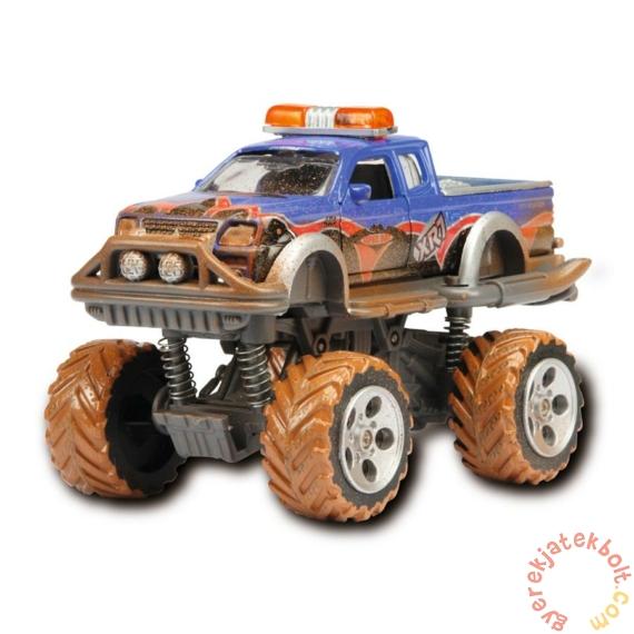 Dickie Játék Rally Monster kisautó - Kék - 15 cm (3742010)