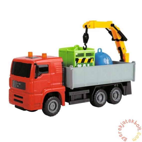Dickie Heavy City Truck játék munkagépek - Szelektív-hulladék szállító (3744003)