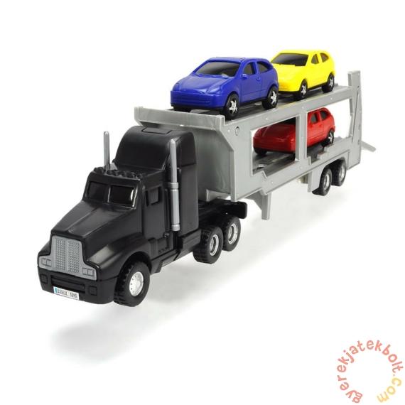 Dickie 32 cm-es Autószállító kamion - Fekete (3746000)