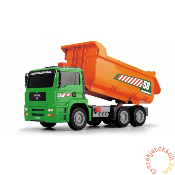 Dickie Levegőpumpás dömper - zöld - narancs (3805005)