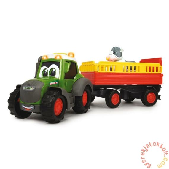 Dickie Happy Fendt állatszállító traktor - 30 cm (3815004)