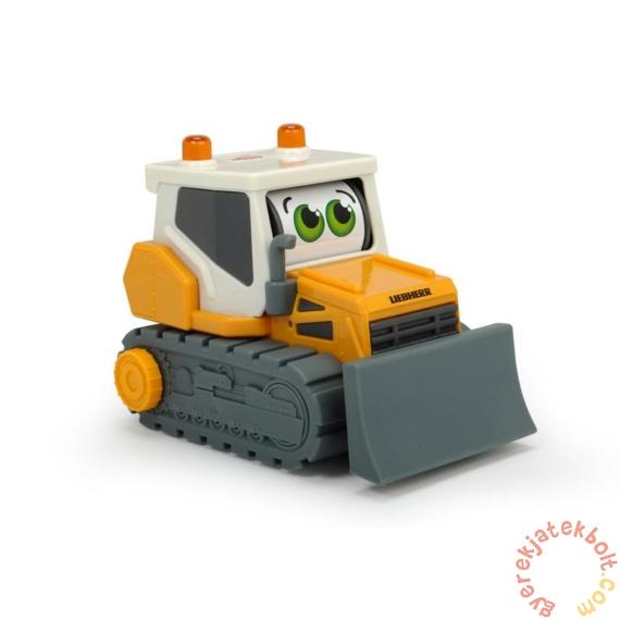 Dickie Boldog masinák - Mozgó szemű Liebherr buldózer - 16 cm