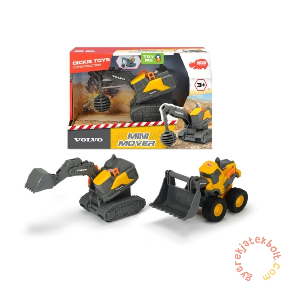 Volvo Mini Mover játék munkagépek