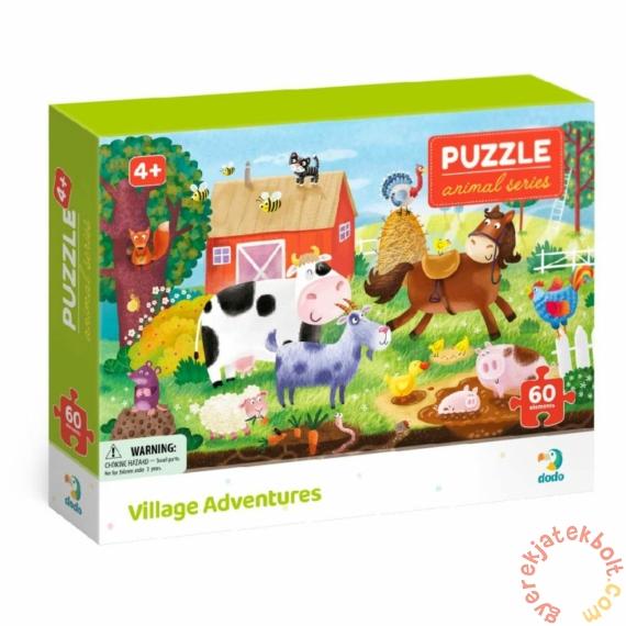 Dodo Animal Series 60 db-os puzzle - Falusi kalandok (300377)