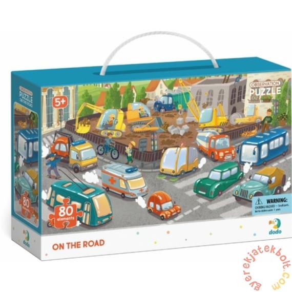 Dodo 80 db-os - Figyeld meg! puzzle - Városi közlekedés (300370)