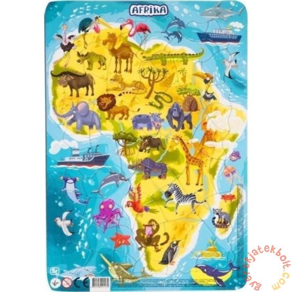 Dodo 53 db-os keretes puzzle - Afrika (300175)