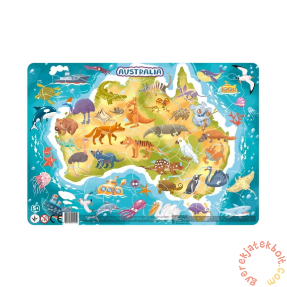 Dodo 53 db-os keretes puzzle - Ausztrália (300179)