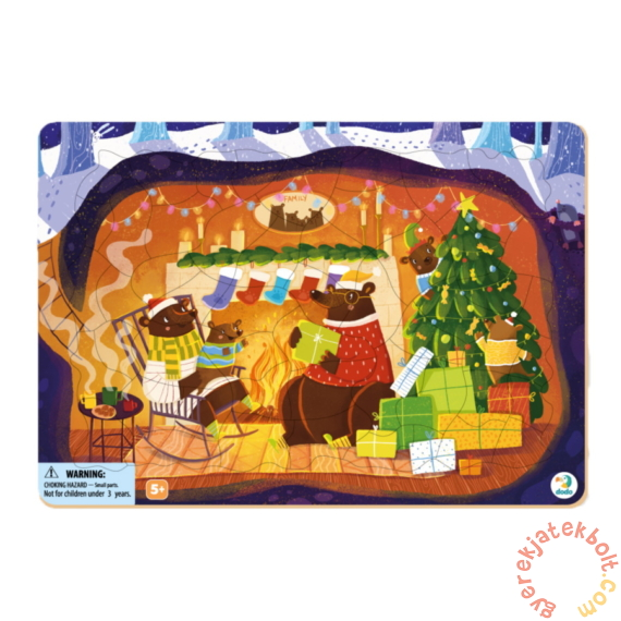 Dodo 53 db-os Keretes puzzle - Maci család karácsonya (300265)Dodo 53 db-os Keretes puzzle - Maci család karácsonya (300265)Dodo 53 db-os Keretes puzzle - Maci család karácsonya (300265)