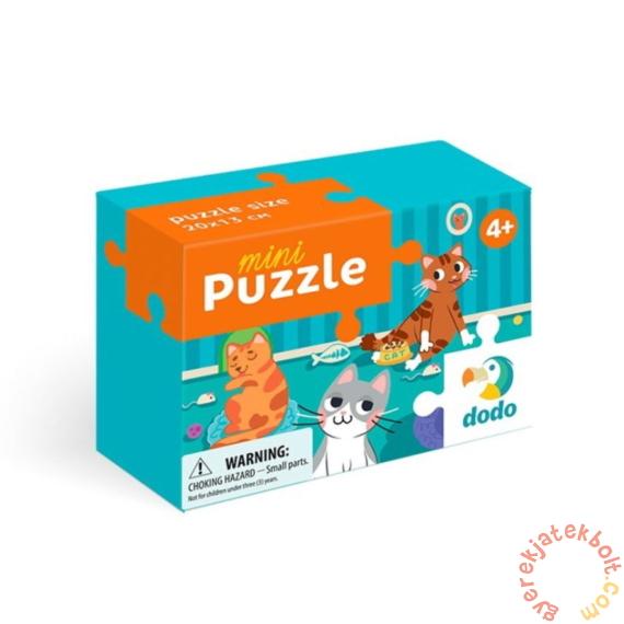 Dodo 35 db-os mini puzzle - Cicák (300284)